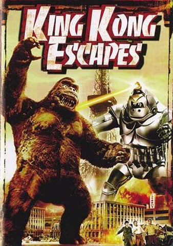 King Kong Escapes DVD Movie