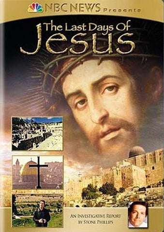 The Last Days of Jesus (NBC News Presents) DVD Movie