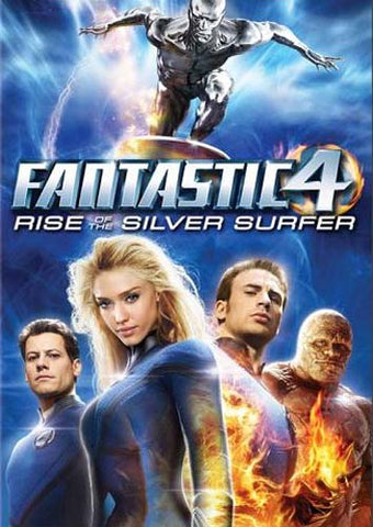 Fantastic Four (4) - Rise of the Silver Surfer DVD Movie