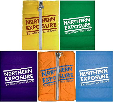 Northern Exposure Season 1/2/3/4/5 (5 Pack) DVD Movie