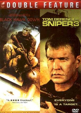 Black Hawk Down/Sniper 3 (Double Feature) DVD Movie