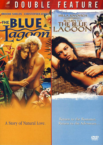 The Blue Lagoon/The Return To The Blue Lagoon (Double Feature Red) DVD Movie