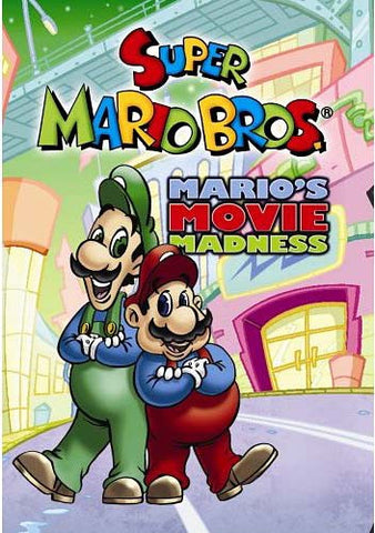 Super Mario Bros - Mario's Movie Madness DVD Movie
