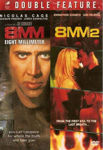 8MM/8MM 2 DVD Movie