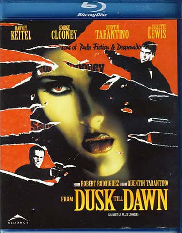 From Dusk Till Dawn (Bilingual) (Blu-ray) BLU-RAY Movie