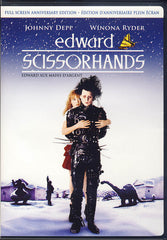 Edward Scissorhands (Full Screen Anniversary Edition)(Bilingual)