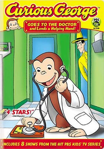 Curious George - Goes To The Doctor And Lends A Helping Hand DVD Movie