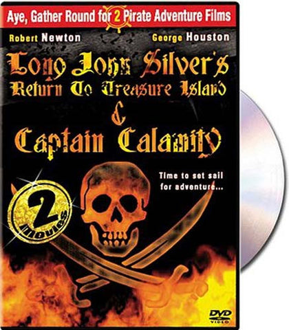 Long John Silver s Return to Treasure Island / Captain Calamity DVD Movie