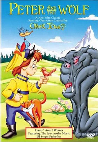 Peter And The Wolf DVD Movie