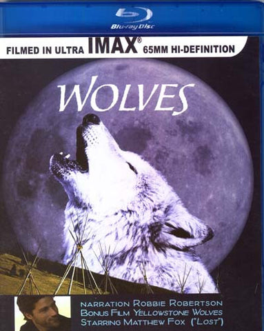 Wolves - Imax (Robbie Robertson) (Blu-ray) BLU-RAY Movie