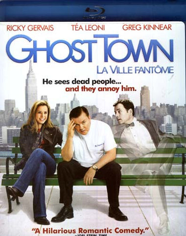 Ghost Town (Blu-ray) (USED) BLU-RAY Movie