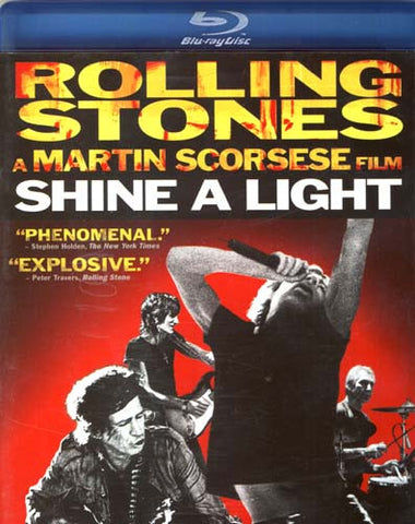 Rolling Stones - Shine A Light (Blu-ray) BLU-RAY Movie