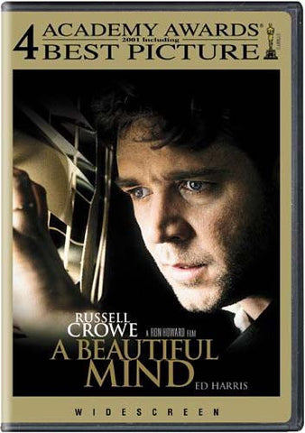 A Beautiful Mind (Widescreen) DVD Movie
