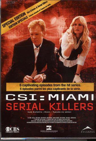 CSI - Miami Serial Killers/Sex Crimes (Special Edition) (Boxset) (Bilingual) DVD Movie