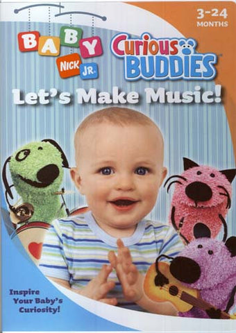 Baby Nick Jr. - Curious Buddies - Let's Make Music! DVD Movie