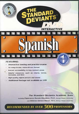 The Standard Deviants - Spanish - Part 1 DVD Movie