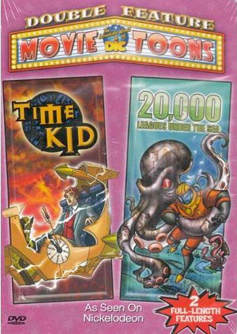 Time Kid / 20,000 Leagues Under The Sea (Double Feature) DVD Movie