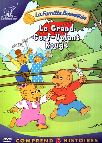 La Famille Berenstain - Le Grand Cerf-Volant Rouge DVD Movie