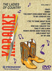 Karaoke The Ladies Of Country - Vol. 5