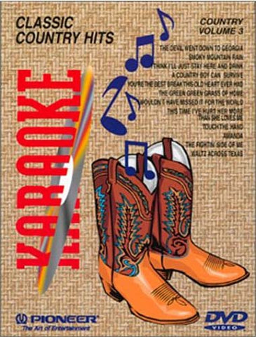 Karaoke Classic Country Hits - Vol. 3 DVD Movie