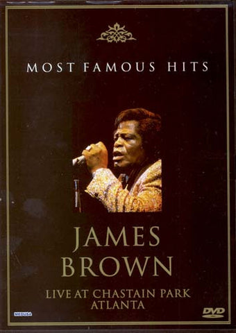 James Brown - Live at Chastain Park, Atlanta (Most Famous Hits) DVD Movie