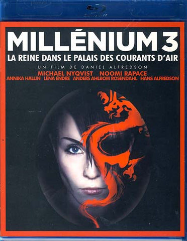 Millenium 3 - La Reine Dans Le Palais Des Courants D' Air (Blu-ray) BLU-RAY Movie