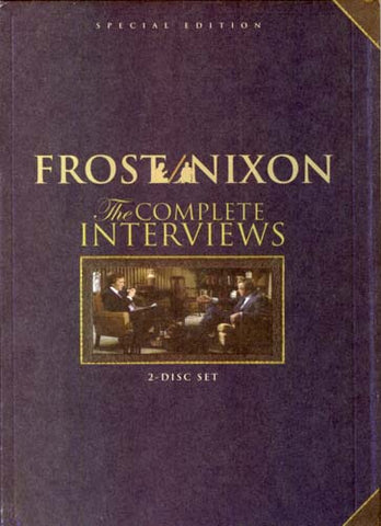 Frost/Nixon - Complete Interviews DVD Movie