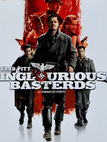 Inglourious Basterds (Single Disc) DVD Movie