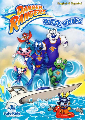 Danger Rangers - Water Works DVD Movie