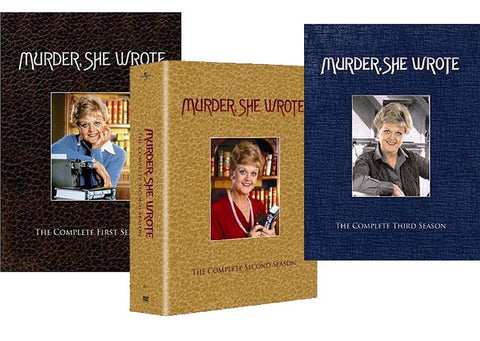 Murder, She Wrote - The Complete First / Second / Third Season (Boxset) (3 Pack) DVD Movie