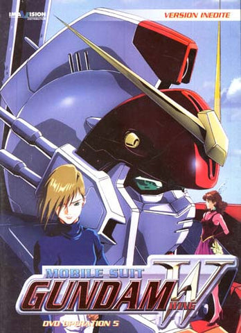 Mobile SuitGundam Wing - Operation 5 (French) DVD Movie