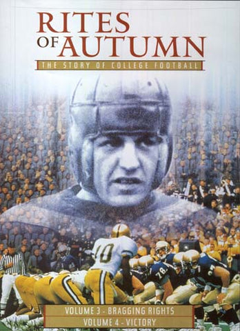 Rites Of Autumn - The Story Of College Football - Volume 3 And 4 DVD Movie