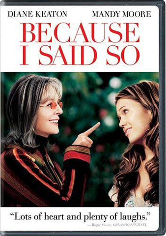 Because I Said So (Full Screen Edition) DVD Movie
