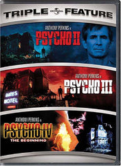 Psycho 2 / Psycho 3 / Psycho 4 - The Beginning (Triple Feature)