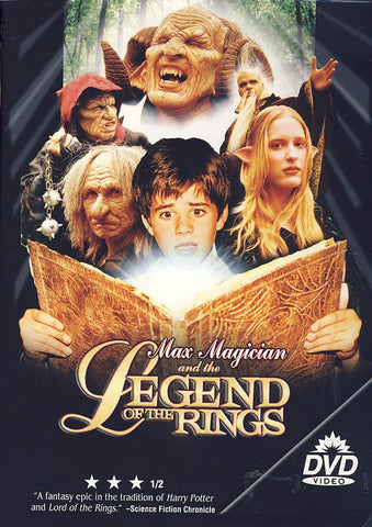Max Magician And The Legend Of The Rings DVD Movie