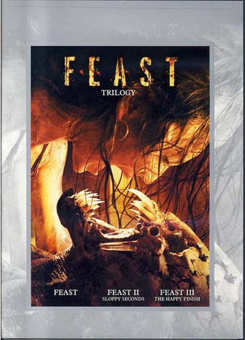 Feast Trilogy (Feast, Feast II Sloppy Seconds, and Feast III The Happy Finish) DVD Movie