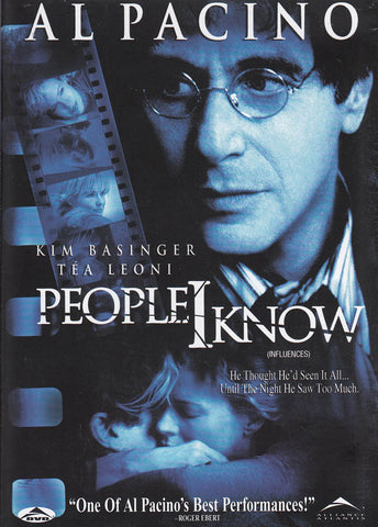 People I Know (Bilingual) DVD Movie