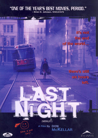 Last Night (Don McKellar) (Bilingual) DVD Movie