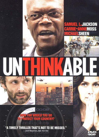 Unthinkable DVD Movie