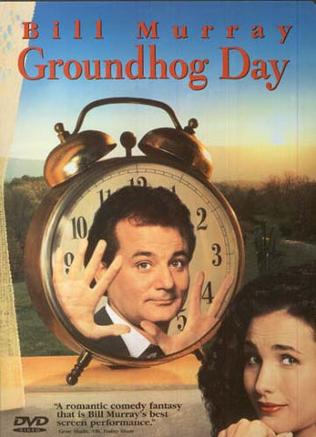 Groundhog Day (Widescreen/Fullscreen) DVD Movie
