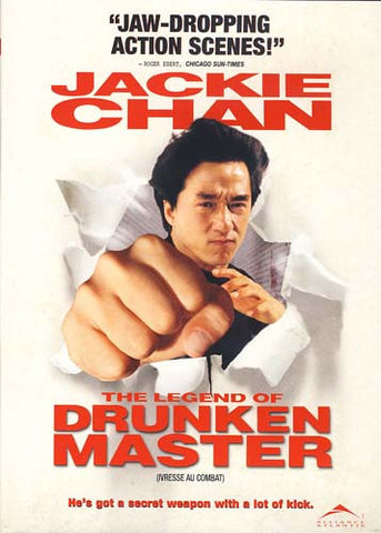 The Legend of Drunken Master (Jackie Chan) (Bilingual) DVD Movie