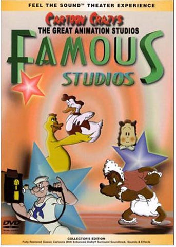 The Great Animation Studios - Famous Studios DVD Movie