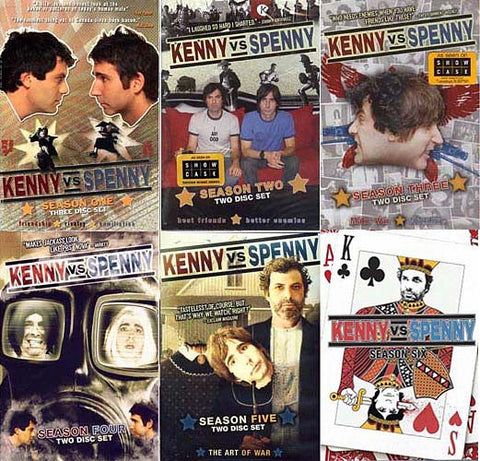 Kenny Vs. Spenny - Season 1 / 2 / 3 / 4 / 5 / 6 (6 Pack)(Boxset) DVD Movie