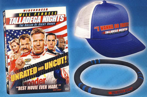 Talladega Nights - The Ballad Of Ricky Bobby (Unrated And Uncut) (DVD Gift Set)(Boxset) DVD Movie
