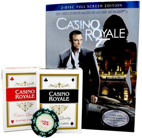 Casino Royale (2-Disc Full Screen Edition) (With Poker Set) (Boxset) (James Bond) DVD Movie