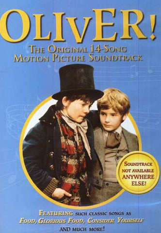 Oliver! The Original 14 Songs Motion Picture Soundtrack! DVD Movie