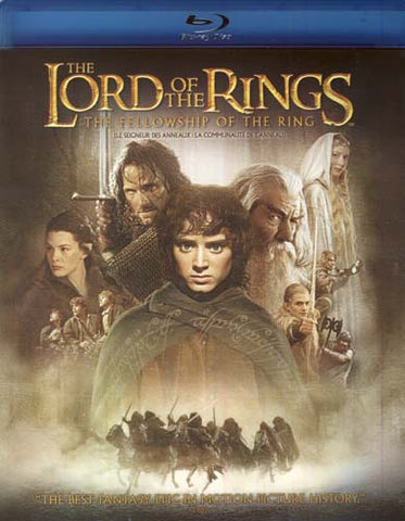 The Lord of the Rings - The Fellowship of the Ring (Bilingual) (Blu-ray) BLU-RAY Movie