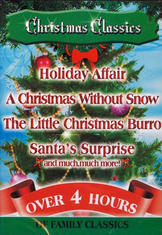 Christmas Classics - Holiday Affair/A Christmas Without Snow/Santa's Surprise And More DVD Movie