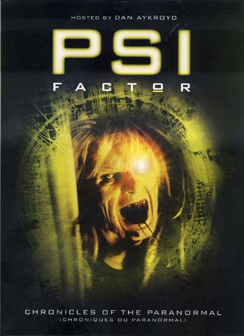 PSI Factor - Chronicles of the Paranormal - Season 3 (Boxset) DVD Movie