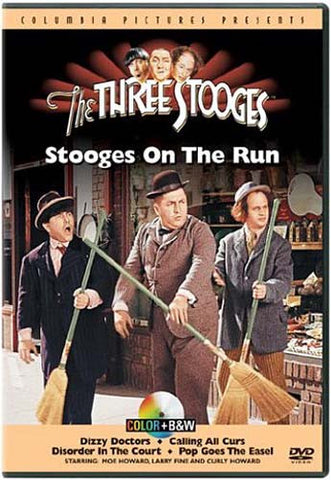The Three Stooges - Stooges on the Run DVD Movie